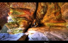 Rock House  Hocking Hills Oh