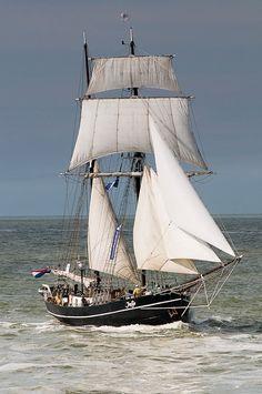 "Dutch brigantine ""Adriaan Huys"""