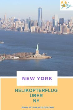 Unvergessliche Momente! Ein Helikopter New York Bucket List, Liberty Island, City Pass, Route 66, Central Park, Dream Vacations, Where To Go, Travel Usa, Empire State Building