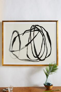 Motion Lines 3 Wall Art