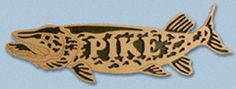 Wooden Fish - Pike Project Pattern