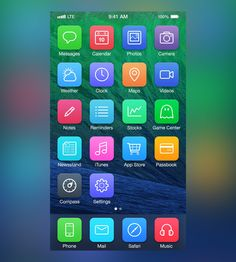 25 Designers Show How iOS7 Should Have Looked