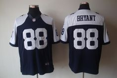 Cowboys #88 BRYANT Blue Thanksgivings MEN'S LIMITED Jersey