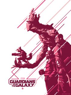 Guardians of the Galaxy by Florey for Poster Posse Project #9