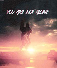 Neon Genesis Evangelion.... WE'VE NEVER BEEN ALONE