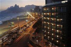 Enjoy the beautiful views of surrounding Rio from the pool at the Hotel Fasano Rio de Janeiro.