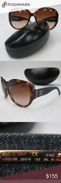 767517e2e2b7 Chanel 5163 502/3B Women's Sunglasses Italy/OLM136 Chanel DENIM 5163 c.502