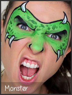 Mimicks Face Painting - Gallery of Photos