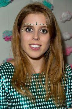 Princess Beatrice of York attends the Saloni Holi colour cocktail party on 18.03.2015 in London, England.