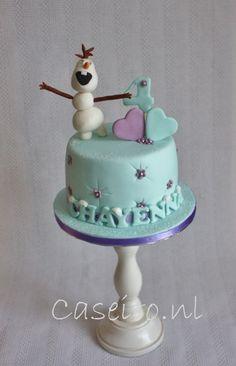 - Frozen, birthday-cake