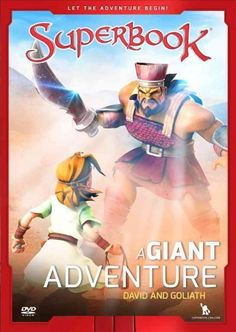 In A Great Adventure Superbook takes our heroes on the frontline of battle when David meets the giant Goliath. CBNs Superbook team is made up of Emmy-winning artists and storytellers, whose credits in