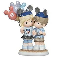DISNEYLAND 60TH DIAMOND CELEBRATION PRECIOUS MOMENTS 60 YEARS OF HAPPINESS PORCELAIN FIGURE * Want additional info? Click on the image.