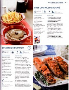 150 receitas - As melhores de 2012 Kitchen Robot, Gluten Free Recipes, Healthy Recipes, Portuguese Recipes, Vintage Recipes, What To Cook, Cooking Tips, Dairy Free, Food And Drink