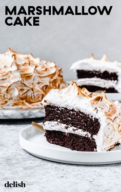 Classic buttercream is great and all, but have you ever had Italian meringue? #chocolate #toasted #howtomake Fluffy Frosting, Meringue Frosting, How To Make Frosting, Unsweetened Cocoa, Vegetarian Chocolate, Creative Cakes, Let Them Eat Cake, Cupcake Cakes, Cupcakes