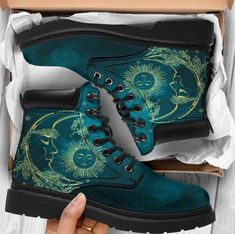 Custom made—never worn— vegan boots Women size 8 Dr Shoes, Me Too Shoes, Dr. Martens, Pretty Outfits, Cool Outfits, Look Fashion, Womens Fashion, Suede Material, Custom Shoes