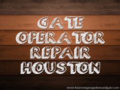Click this site http://houstongaragedoorandgate.com/ for more information on Electric Gate Repair Houston.
