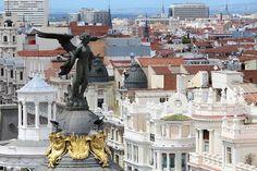 Círculo de Bellas Artes #kattoterassi #azotea #madrid #espanja #spain