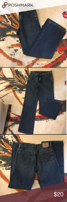Men's Low Slouch Levi's Jeans Like new men's low slouch straight leg Levi jeans. Size: 8 Mia M Levi's Jeans Straight