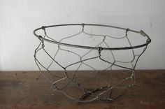 wire bowl. i like this design as i think it is simple and i also like the way it has been constructed as i think that the sinning of the wire gives the bowl more character and also make it a little more fun.