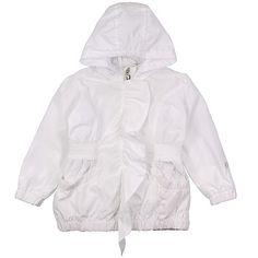 36fde8cb45df Ariana Dee Bright White Junior Girls Jacket - DesignerChildrenswear.com  Designer Childrenswear