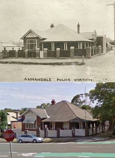 Former Annandale Police Station cnr Collins and Annandale Sts - Street View by Phil Harvey] Phil Harvey, Australian People, Police Station, Historical Pictures, South Wales, Once Upon A Time, Sydney, Past, Street View