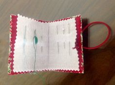 Needle case. -  made with recycled material