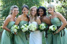 Свадьба в зеленом цвете фото 6