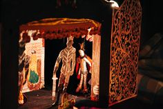 "Puppet show ""King of dreams"" French fairy tale"