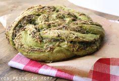 Pesto - Käse - Brot