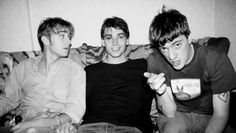 Alex James, Damon Albarn and Graham Coxon | blur