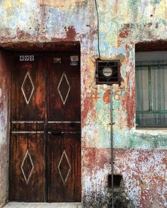 Thought 602 of the day Some decay on your facade reveals how many colors you have lived with.