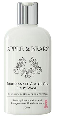 Apple & Bears Pomegranate & Aloe Body Wash - 300ml