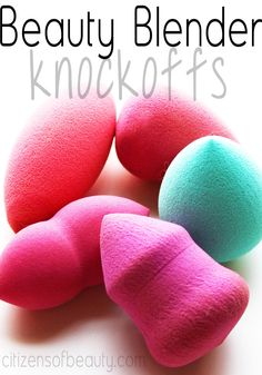 Do beautyblender knockoffs really compare? Let's find out.