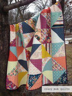 crazy mom quilts: fleet and flourish fabrics