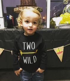 TWO WILD shirt for Where the Wilds Things Are 2nd birthday party!