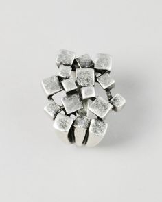 metal mosaic ring