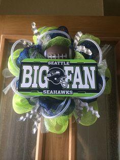 """12"""" Seattle Seahawks wreath"""