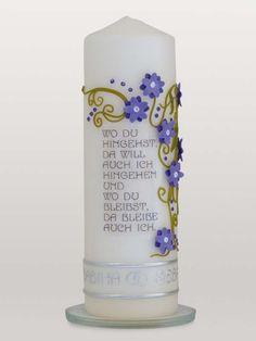 Hochzeitskerze, wedding candle