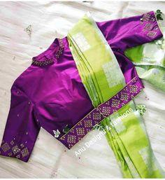 Choli Blouse Design, Saree Blouse Neck Designs, Stylish Blouse Design, Fancy Blouse Designs, Bridal Blouse Designs, Dress Designs, Designer Saree Blouses, Designer Blouse Patterns, Seda Sari
