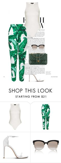 """""""Untitled #830"""" by marjanne-mestilainen ❤ liked on Polyvore featuring Topshop, Dolce&Gabbana, Chanel and Christian Dior"""
