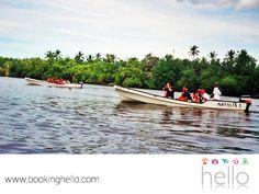 VIAJES PARA JUBILADOS. El Río Chavón, es el brazo fluvial que llega a la Romana. Un lugar sorprendente para dar un paseo en lancha o kayak y adentrarse a experimentar una gran sensación de tranquilidad entre la flora y la fauna de este paisaje. Incluso, este sitio ha sido locación para algunas películas de Hollywood. En Booking Hello, te invitamos a visitar esta zona durante tu viaje por República Dominicana. #viajesparajubilados
