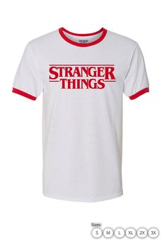Stranger Things Funny Mens Womens Boys T shirt inspired