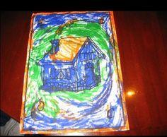 Il disegno: una finestra sul mondo dei piccoli | Il Mondo dei Gemelli  CAPPELLETTOITALIA crea cavalletti bifacciali per piccoli artisti da 3 anni in su. www.easels.it  www.cappellettoitalia.it