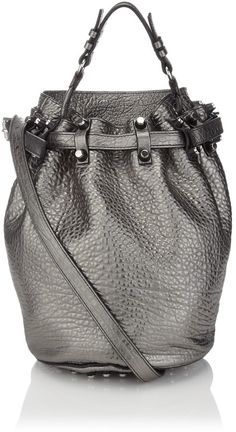 Alexander Wang Carbon Leather Diego Bag