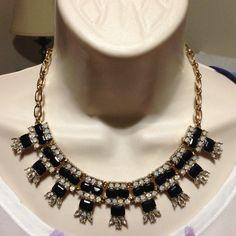 "Selling this ""Tre Vero Jet Black Crystal Beaded Necklace"" in my Poshmark closet! My username is: mtnoonan. #shopmycloset #poshmark #fashion #shopping #style #forsale #Tre Vero #Jewelry"
