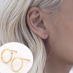 Circle earrings GOLD 2 hr sale PRICE FIRM. Gold tone. Statement. Silver tone also available. No pp no trades. Price firm unless bundled. Wholesale opportunities available on this item if you're interested in starting your own jewelry boutique. Inquire within. Keywords for office use only: boho, pastel, glam 5 Jewelry Earrings