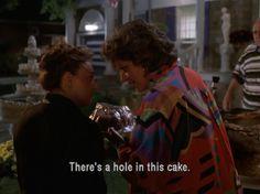 """My Big Fat Greek Wedding - on describing a bundt cake :) """"its a bund...its a bun...its a bund-t...OH!...ITS A CAKE!"""" Hahahaha"""