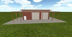 Cool 3D #marketing http://ift.tt/2jV6KkP #barn #workshop #greenhouse #garage #roofing #DIY