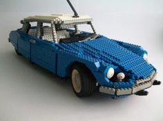 Citroen DS made of Lego