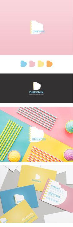 """logo concept  for """"DNEVNIK"""" #logo #designideas #designers #design #arestaurant #cafe"""